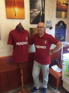 PESCHICI MAGLIA CON IL PRESIDENTE
