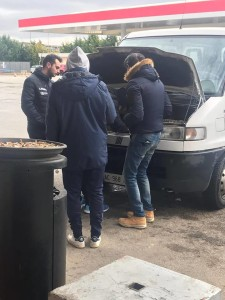 gioventù cerignola automezzo in panne