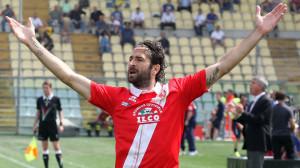 Ar Modena 12/05/2012 - campionato di calcio serie B / Modena-Grosseto / foto Andrea Rigano'/Image Sport nella foto: esultanza gol Ferdinando Sforzini
