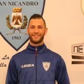 SAN NICANDRO L'ATTACCANTE ANTONIO BISCOTTI 26-11-19